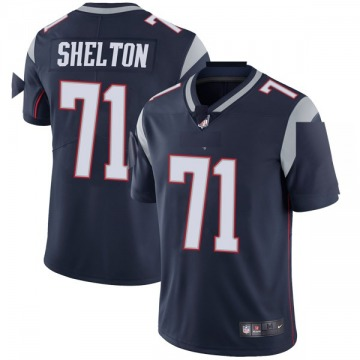 Youth Danny Shelton New England Patriots Limited Navy Team Color Vapor Untouchable Jersey