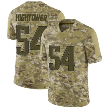 Youth Dont'a Hightower New England Patriots Limited Camo 2018 Salute to Service Jersey